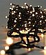 Гирлянда 200LED (ЧП) 18м Тёплый (RD-7132), Новогодняя бахрама, Светодиодная гирлянда, Уличная гирлянда, фото 7