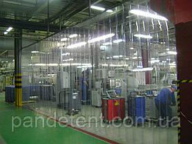 Термошторы. Ленточная теплоизолирующая ПВХ завеса. Силиконовая штора полосовая, фото 2