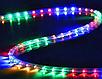 Гірлянда дюралайт   світлодіодна стрічка   круглий шланг 7189, RGB, 10м з контролером на 220в (Мікс), фото 5