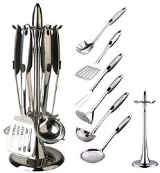 Кухонный набор из 7 предметов Maestro MR-1546   лопатка   вилка для мяса   половник   шумовка   картофелемялка