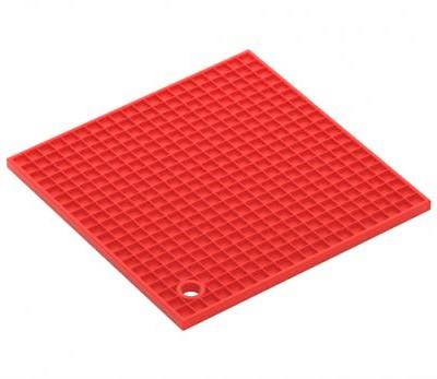 Подставка под горячее Benson BN-991 силиконовая квадрат | подставки под горячее Бенсон | подложка для горячего