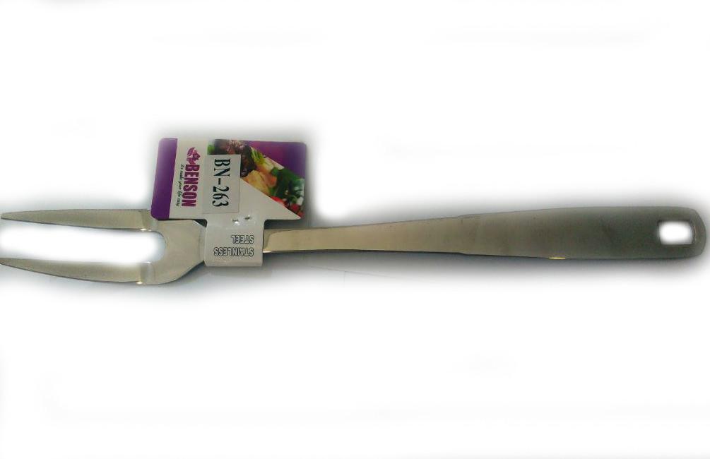 Вилка для мяса из нержавеющей стали Benson BN-263   столовые приборы   кухонные принадлежности из нержавейки