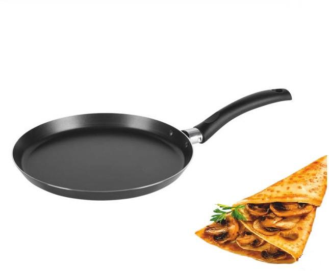 Сковорода млинна з мармуровим антипригарним покриттям Benson BN-507 (20 см) | сковорідка