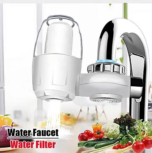 Фильтр-насадка на кран для проточной воды WATER PURIFIER   Очиститель воды с керамическим фильтром
