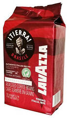 Кофе в зернах Лавацца Тиерра Lavazza TIERRA Brasile extra intense PROFESSIONAL, 1 кг красная упаковка