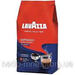 Кофе в зернах Lavazza Crema e Gusto Espresso Classico 1000г Италия, 30% Арабика, 70% Робуста.