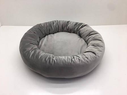 Лежак для собак и котов Сапфир №3 60х15 см серый, фото 2