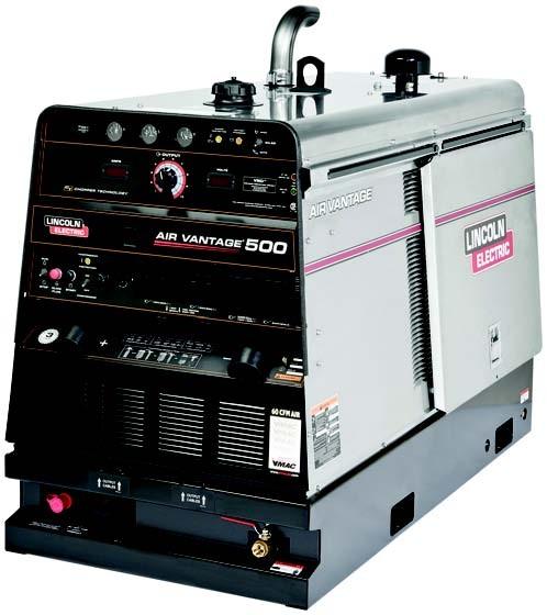 Air Vantage 500 сварочный генератор LINCOLN ELECTRIC