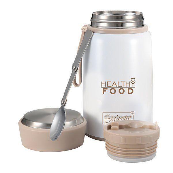 Термос пищевой для еды Maestro MR-1646-80 (800 мл) | судок для поддержания температуры тормозка Маэстро