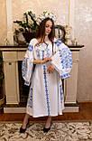 Шикарна сукня «Голуба лавина», фото 6