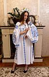 Шикарна сукня «Голуба лавина», фото 4