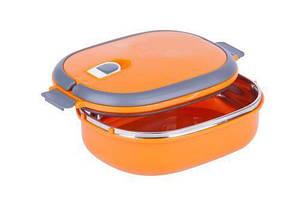 Ланч-бокс Benson BN-044 (700 мл) оранжевый | контейнер для еды Бенсон | ланчбокс Бэнсон