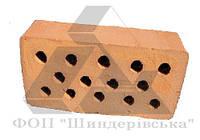 Кирпич рядовой строительный М100 пустотелый