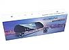Автомобільний відеореєстратор дзеркало DVR V9TP з 3 камерами, фото 2