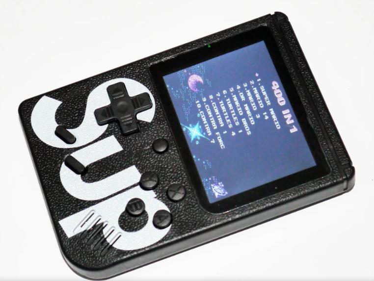 Ігрова приставка SUP Game Box + 400 ігор   Портативна dendy