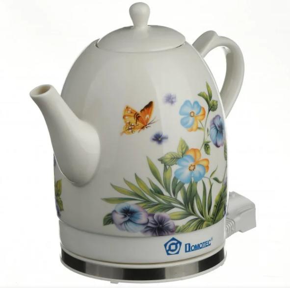 Електрочайник керамічний DOMOTEC MS-5056 | електричний чайник