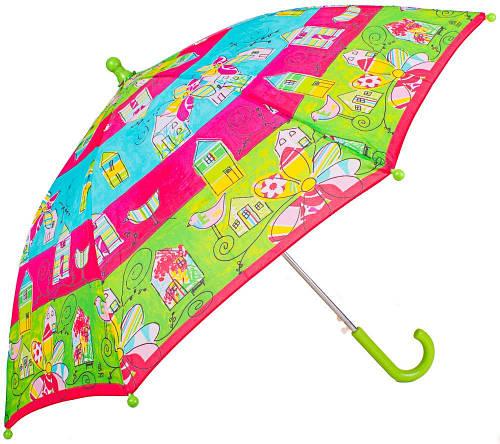 Яркий зонт-трость облегченный детский полуавтомат AIRTON (АЭРТОН) Z1651-2