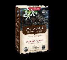 """Черный чай """"Пуэр с жасмином"""" Numi"""