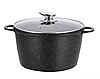 Набір посуду Benson BN-328 (10 предметів) мармурове покриття   каструля з кришкою, каструлі   сковорода Бенсон, фото 3