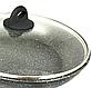 Сковорода Benson BN-491 з мармуровим антипригарним покриттям, з кришкою (24 см) | сковорідка Бенсон, фото 2