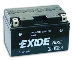 Аккумулятор гелевый мото 8.6Ah 145A EXIDE SLA12-8 = AGM12-8 , Honda , Yamaha , Suzuki , Kawasaki , KTM