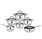 Набор посуды Edenberg EB-4052 кастрюли сковорода и ковш из 6 предметов, фото 2