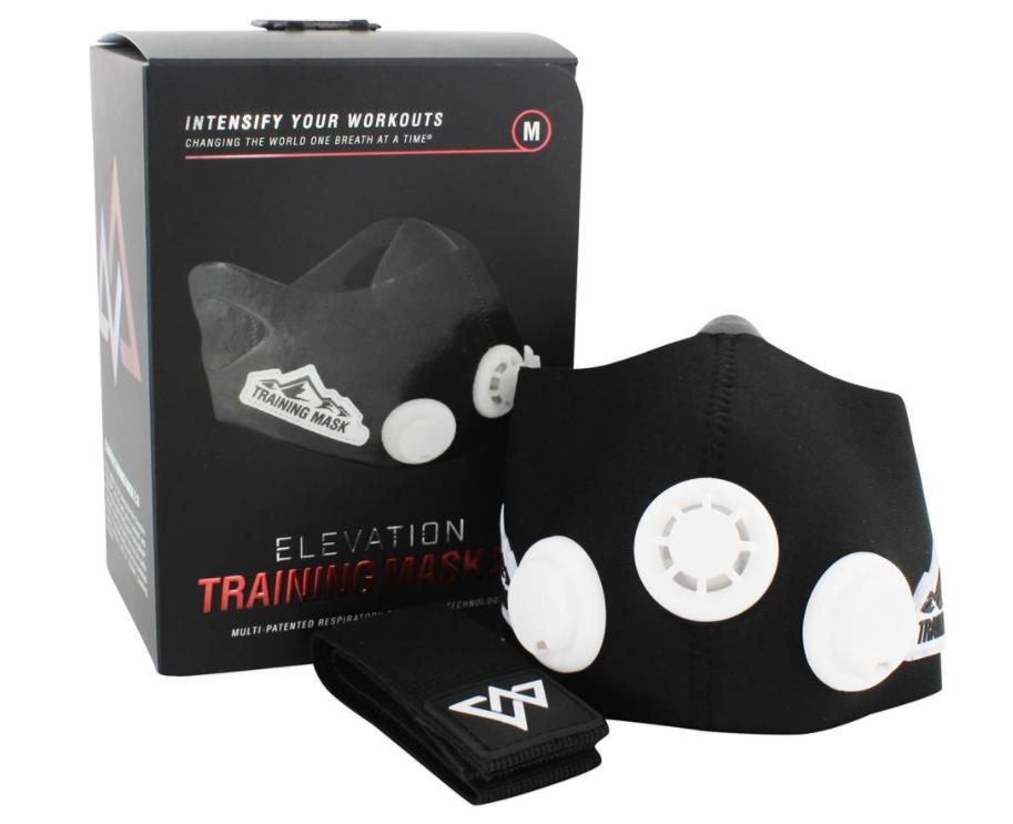 Тренувальна Силова Маска дихальна для бігу і тренувань Elevation Training Mask 2.0