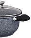 Каструля казан Edenberg EB-3979 з гранітним покриттям 5,5 л, фото 4