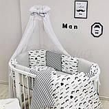Комплект Baby Design Усы, фото 2