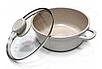 Набор посуды Edenberg EB-9182 из 4 предметов казаны и ковш мраморное покрытие, фото 3