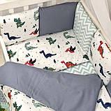 Комплект Baby Design Dino синій ст., фото 2