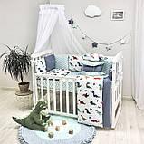 Комплект Baby Design Dino синій ст., фото 3