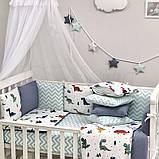 Комплект Baby Design Dino синій ст., фото 4