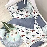 Комплект Baby Design Dino синій ст., фото 5
