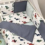 Комплект Baby Design Dino синій ст., фото 6