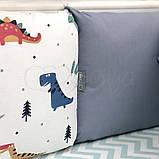 Комплект Baby Design Dino синій ст., фото 9