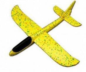 Понад швидкий метальний літак планер трюкач на далеку відстань (Жовтий)