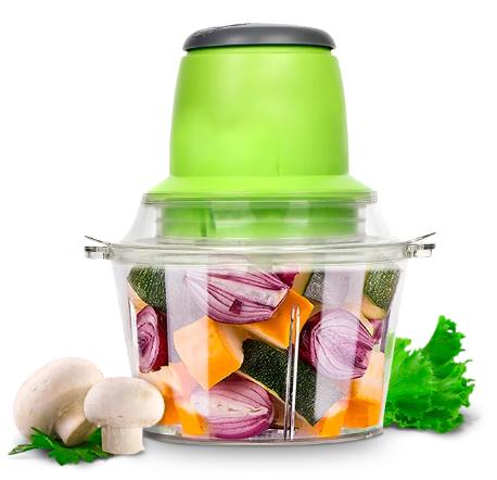 Измельчитель LIVSTAR 5508 1,8 л 300 Вт   Пищевой экстрактор чоппер для нарезки измельчения продуктов