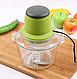 Измельчитель LIVSTAR 5508 1,8 л 300 Вт   Пищевой экстрактор чоппер для нарезки измельчения продуктов, фото 3
