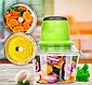 Измельчитель LIVSTAR 5508 1,8 л 300 Вт   Пищевой экстрактор чоппер для нарезки измельчения продуктов, фото 4