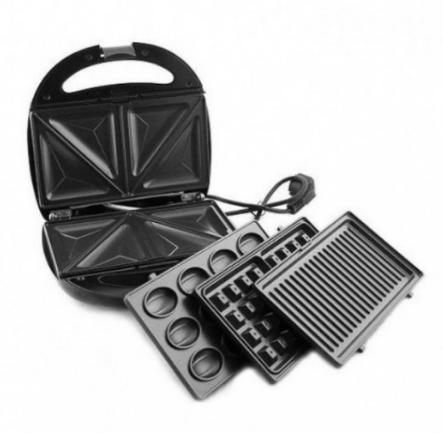 Бутербродница LIVSTAR LSU-1219 4в1   сэндвичница вафельница   тостер гриль орешница