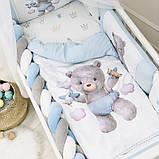 Комплект Kids Toys Ведмедик блакитний ст., фото 2