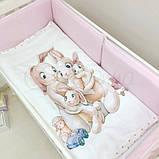 Комплект Сімейка рожевий ст., фото 3
