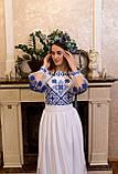 Довга вишита сукня з мереживом «Зоряне сяйво», фото 2