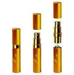 Компактний флакон атомайзер для ваших духів | Флакон для парфумів з пульверизатором Золотий