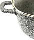 Кастрюля с мраморным антипригарным покрытием Benson BN-354 (6.2 л) | казан с крышкой Бенсон | кастрюли Бэнсон, фото 4