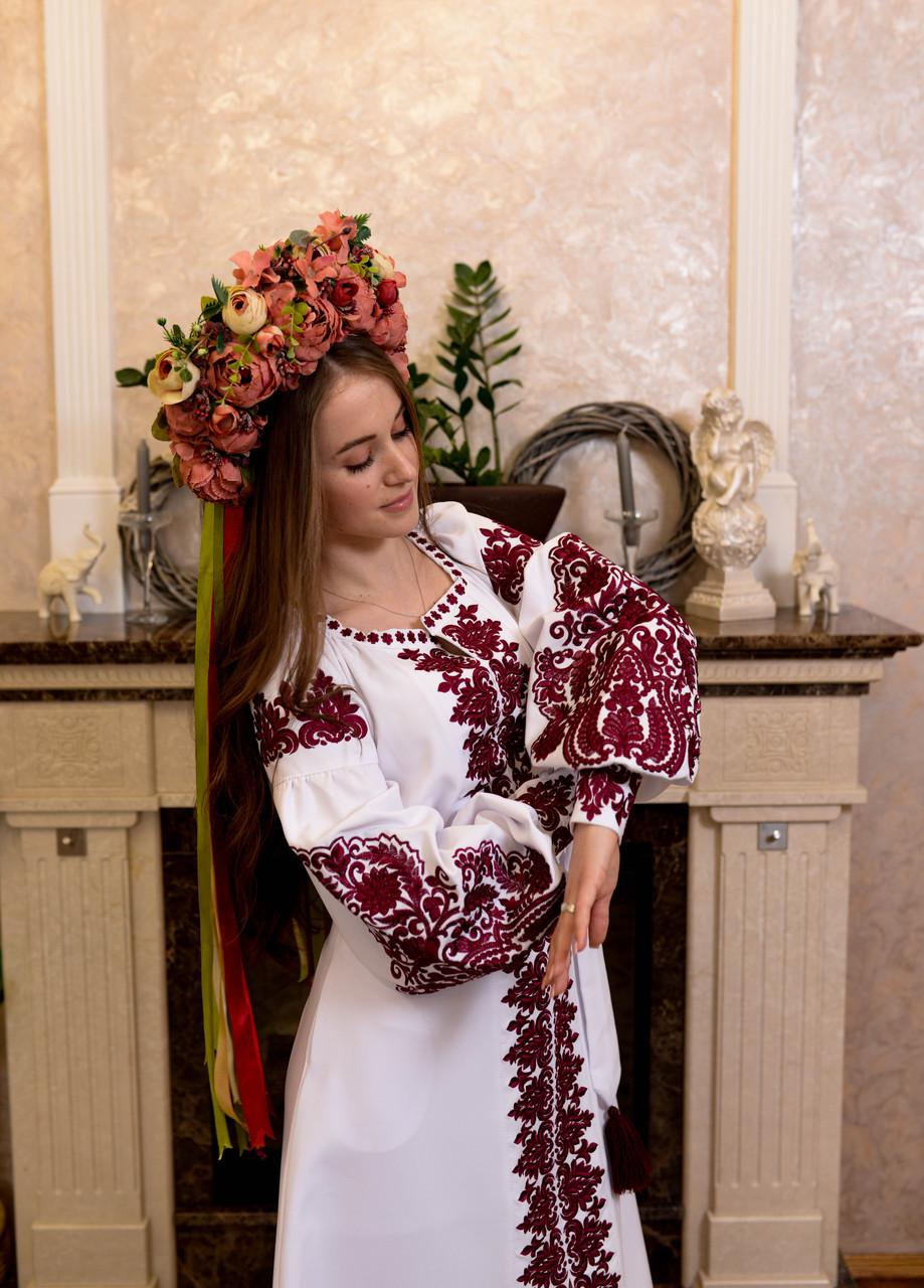 Вишита сукня «Горобина»