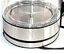 Скляний електрочайник Kingberg KB-2030 (1.7 л)   електричний чайник   кавоварка з підсвічуванням Кингберг, фото 4