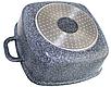 Каструля казан Edenberg EB-3974 з гранітним покриттям 5,5 л, фото 3