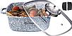 Каструля казан Edenberg EB-3974 з гранітним покриттям 5,5 л, фото 4
